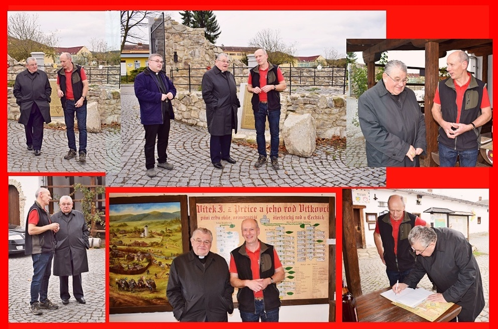 Návštěva arcibiskupa kardinála Duky